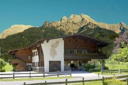 Moderne Erdgeschosswohnung mieten als Freizeitwohnsitz/Zweitwohnsitz in traumhafter Lage - Nähe Skigebiet Waidring/Steinplatte