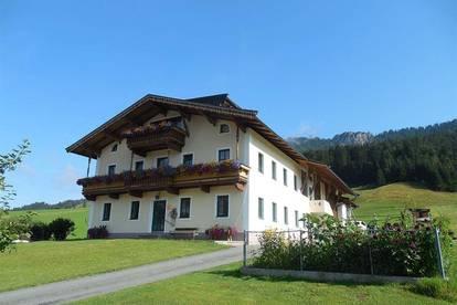 Großes Bauernhaus in schöner Lage als Freizeitwohnsitz/Zweitwohnsitz - Nähe Skigebiet Fieberbrunn
