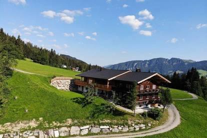 Großes Bauernhaus in wunderschöner Alleinlage als Erstwohnsitz im Skigebiet Wildschönau
