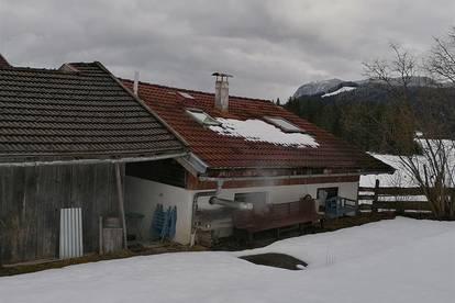 Wochenendhaus im Hüttenstil in schöner Lage als Freizeitwohnsitz/Zweitwohnsitz – Nähe Thiersee