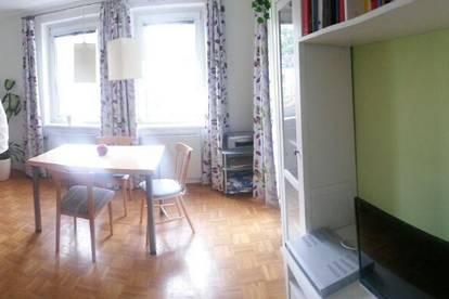 Ab 1.7.2020: Sonnige Wohnung in zentraler Grünruhelage mit Balkon, Garage und Waschmaschine