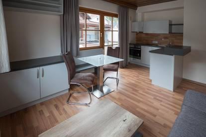 Vermiete mitten in Prutz, ab 01.11.2021, ruhige, sehr sonnige, vollmöblierte 2 Zimmerwohnung mit großer 35m² Südterrasse !