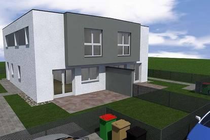 Wunderschöne Doppelhaushälfte mit Wohnkeller in herrlicher Südlage in Himberg bei Wien zu verkaufen
