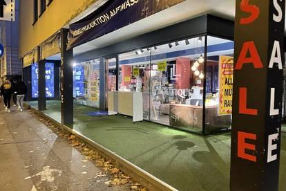 Geschäftslokal in der Stadt Salzburg