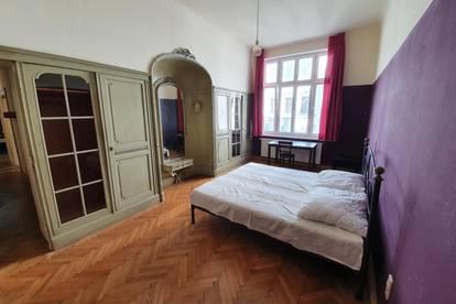 Ruhiges, hofseitiges Zimmer in Altbau-Wohnung