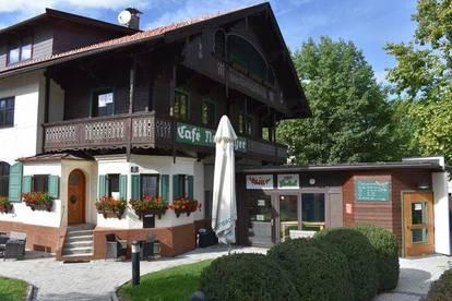 Gastronomiefläche nutzbar als Biergarten oder Café / Bistro (Sandwichbar) mit gemütlichem Gastgarten (ca 300 m2) zu vermieten
