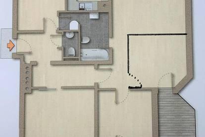 Provisionsfreier generalsanierter 4 er WG-Hit! 5 Getrennt begehbare Zimmer mit großem Süd-Balkon in unmittelbarer TU und KFU Nähe!