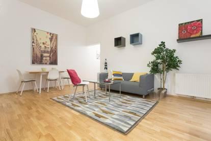 Möblierte Gartenwohnung in zentraler Lage - komplett möbliert  und ausgestattet