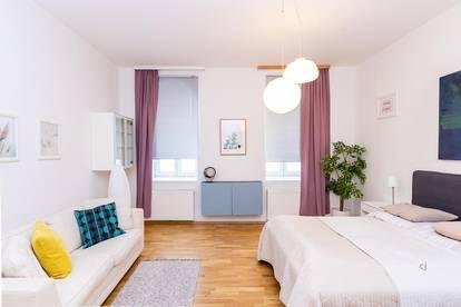 Möbliertes City Apartment - zentral gelegen und komplett ausgestattet
