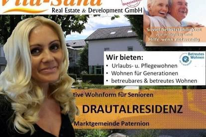 Betreutes Wohnen mit Pflegegarantie in der Vita Sana Drautalresidenz