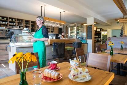 """Cafe & Hofladen """"die geniesserei"""" zu verpachten, mit oder ohne Privatwohung"""