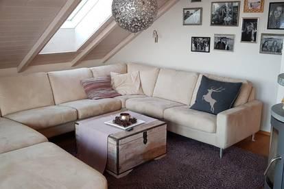Traumhafte DG-Wohnung in Krustetten mit herrlichem Krems-Ausblick