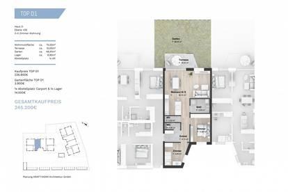 VORSORGE: Traumhafte 3- Zimmer Wohnung am Koinegghügel
