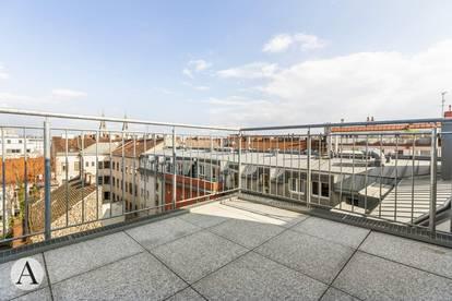 Wohnen wie im Himmel - Erstbezug DG-Terrassenwohnung bei Keplerplatz