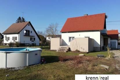 Charmantes Einfamilienhaus mit Garten und Pool