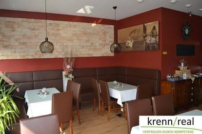 Holzofen-Restaurant in sehr guter Lage