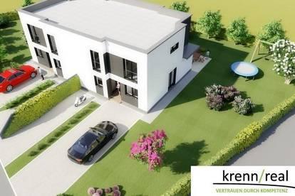 Seltene Gelegenheit in Thalheim bei Wels- modernes Haus am Stadtrand in Naturlage