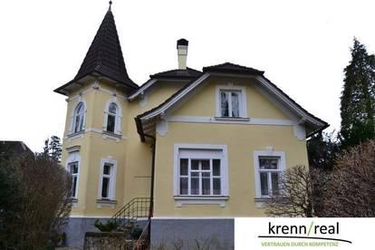 Top restaurierte Altbau-Villa mit großzügigem Garten und Schwimmteich