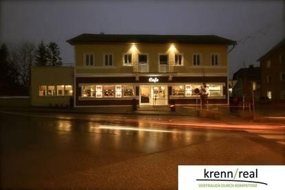 Elegant eingerichtetes Cafe in Vorchdorfer Stadtzentrum