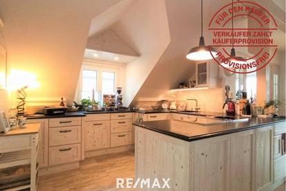 5-Zimmer Dachgeschosswohnung mit Traumaussicht - provisionsfrei für den Käufer!
