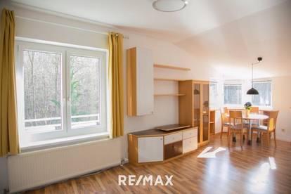 Helle Dachgeschosswohnung mit Wienerwaldblick - Kaufangebot angenommen