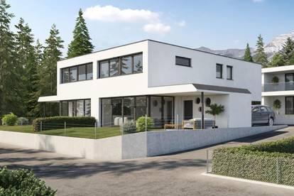Neubau - Attraktive Doppelhaushälfte mit Tiefgarage in der Milser Heide