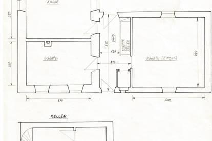 schöne 72m² Gartenwohnung