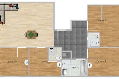 2 Zimmer in einer 4er WG frei