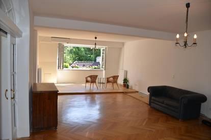 175m² Wohnung, frisch renoviert mit Klimaanlage in Jugendstilvilla mit Garten - Mitbenützung