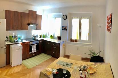 70 m2- 2 SZ mit Wohnküche wartet auf Sie?