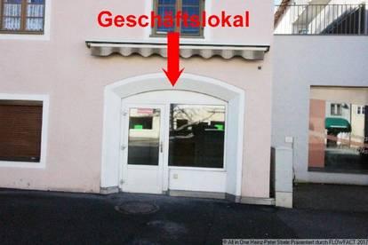 Geschäftslokal im Ortszentrum von Reutte