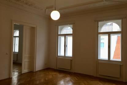 Provisionsfrei: Top sanierte 4,5 Zimmer-Altbauwohnung mit Erkersalon/ Naschmarkt Nähe