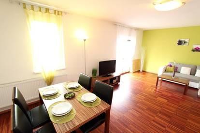 Apartment mit zwei Balkonen