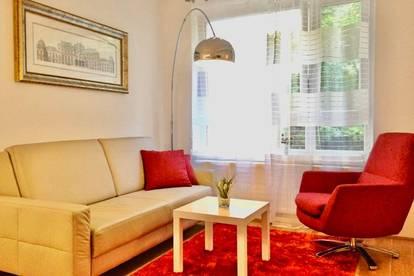 Möbliertes Apartment in Top City-Lage beim Schloss Belvedere 1040 Wien