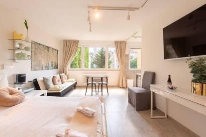 zentrales Studio Apartment in Toplage, hochwertig möbliert & voll ausgestattet, beste öffentliche Anbindung
