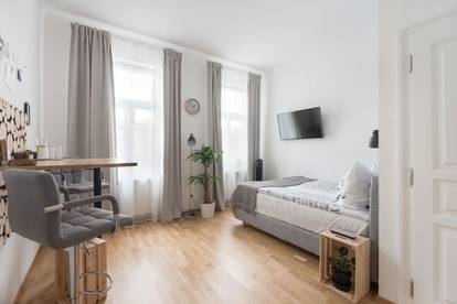 Urbanes Studio Apartment beim Brunnenmarkt
