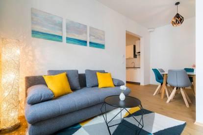 Modernes Apartment in der Nähe der Wiener Stadthalle mit riesigem Balkon