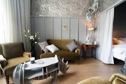 Vintage Apartment im Dschungel-Stil