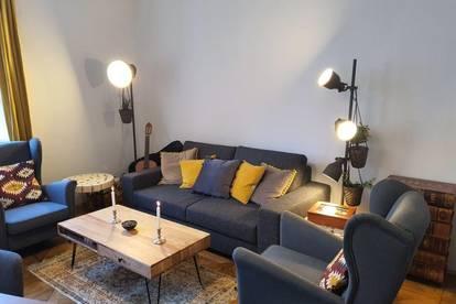 Stilvolle Wohnung mit zwei Schlafzimmern