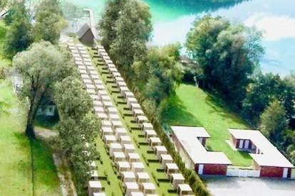 Seegrundstück im Luxusstrandbad MERLROSE am Klopeinersee