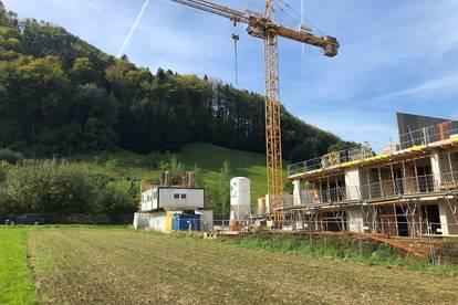 Herrliche Gartenwohnung in Pinsdorf bei Gmunden (rascher Baufortschritt)