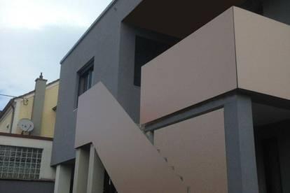 Sonnige Mietwohnung mit Balkon u. Gartenanteil – förderbar