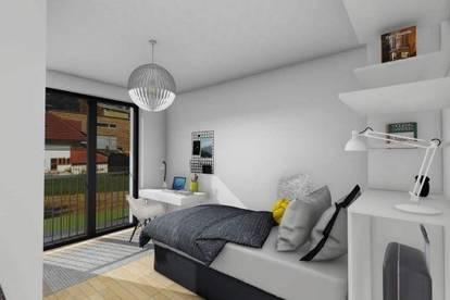 Hatting - Neubau - 2 Zimmer Gartenwohnung