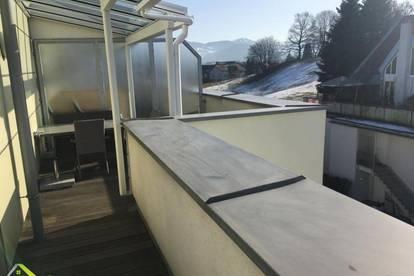 Möblierte Penthouse-Wohnung mit 17m² Dachterrasse und Tiefgarage