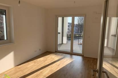 Neubau - Erstbezug - 2-Zimmer Wohnung mit großem Balkon und Tiefgarage