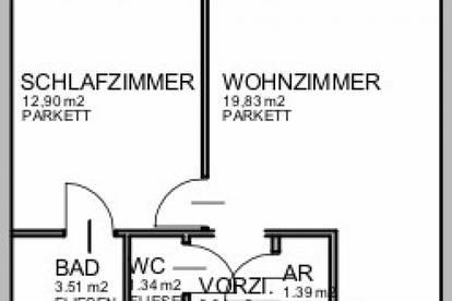 Großräumige 2-Zimmer Wohnung in 1090 Wien zu vermieten - VIDEO BESICHTIGUNG MÖGLICH!
