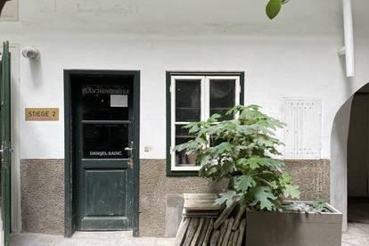 Charmantes Atelier mitten in der Innenstadt zu vermieten!!