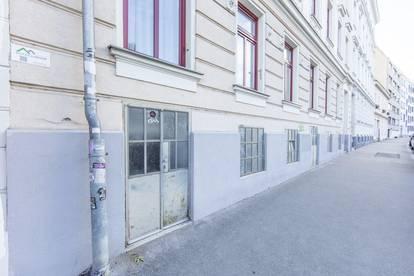 Lagerfläche im Souterrain in der Goldschlagstraße in 1140 Wien zu vermieten!