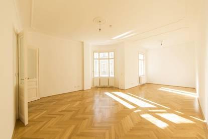 Repräsentative 3-Zimmer Wohnung in ruhiger Innenhoflage im Herzen des 7. Bezirks!