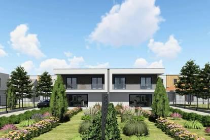 Ihr eigener Wohn(T)raum in Pixendorf - Beeindruckende Doppelhaushälften mit Eigengarten